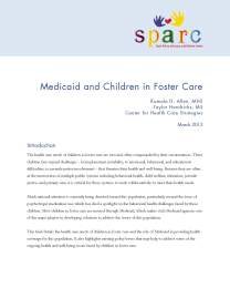 Brief: Medicaid and Children in Foster Care