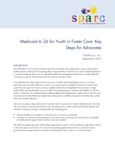 Medicaid to 26 for Youth in Foster Care_Page_1