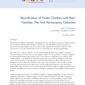 Brief: Reunification of Foster Children with their Families