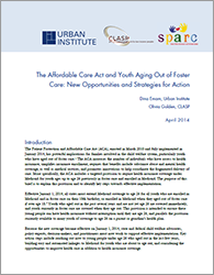 Brief: The Affordable Care Act and Youth Aging Out of Foster Care