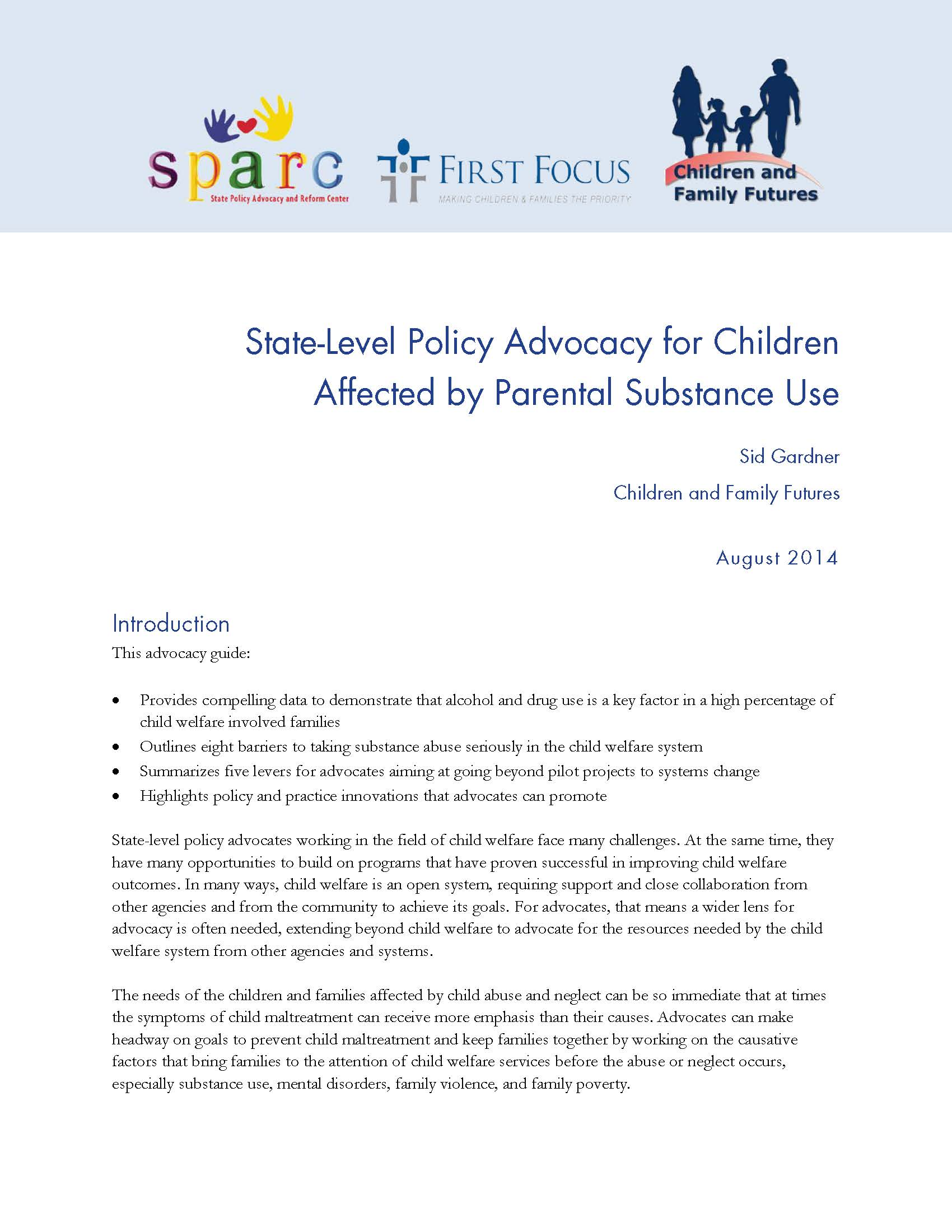 State-Level Policy Advocacy for Children Affected by Parental Substance Use_Page_01