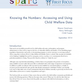 Brief - Knowing the Numbers: Accessing and Using Child Welfare Data
