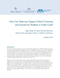 How Can State Law Support School Continuity and Success for Students in Foster Care_Page_1