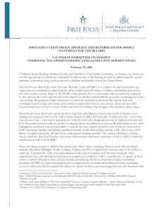 Statement for the Record Examining the Opioid Epidemic Challenges and Opportunities_Page_1